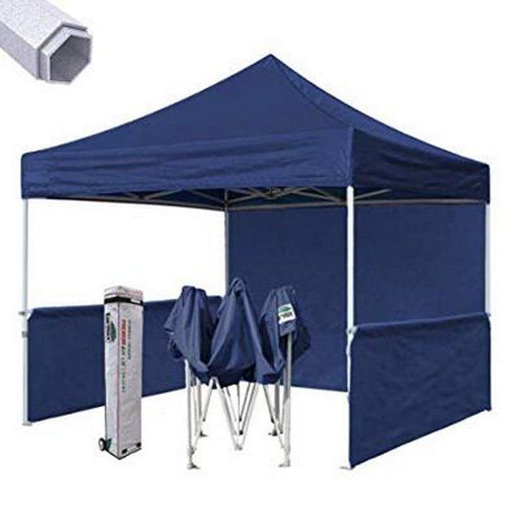 Instant Canopy Trade Show Tent 3x3 Flame Retardant With Sunshade Cover